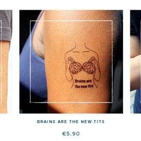 Les tattoos temporaires de TB Manifesto