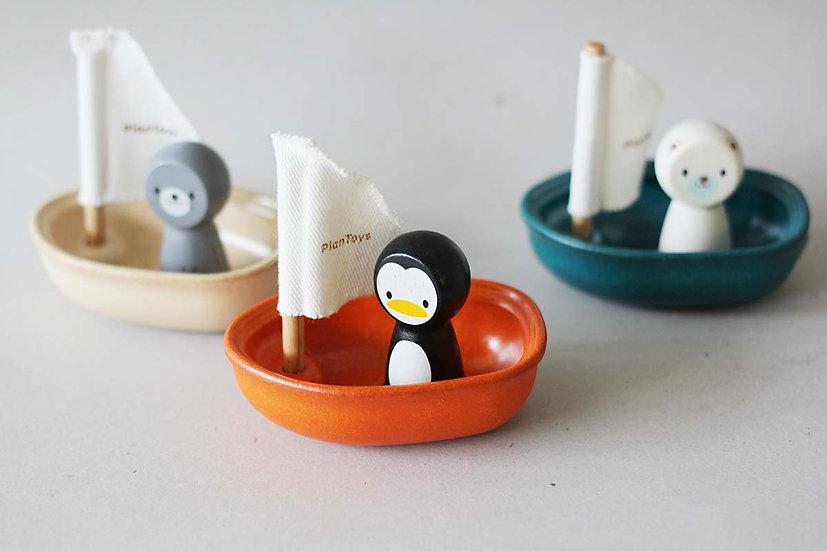 Sailing Boats Seal/ Penguin/Polar Bear