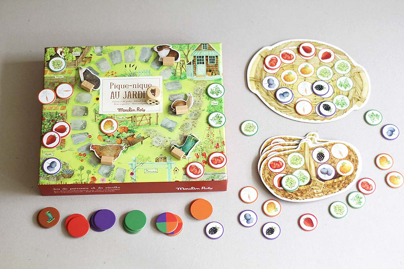 A Picnic in the Garden Board Game