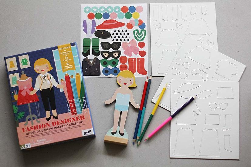 Design and Draw Magnetic Fashion Designer