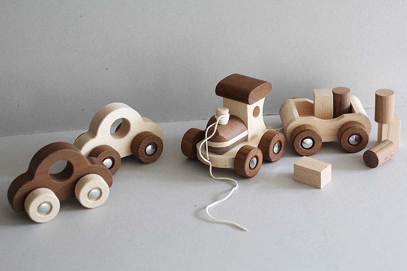 Nature Vehicles / Train with blocks