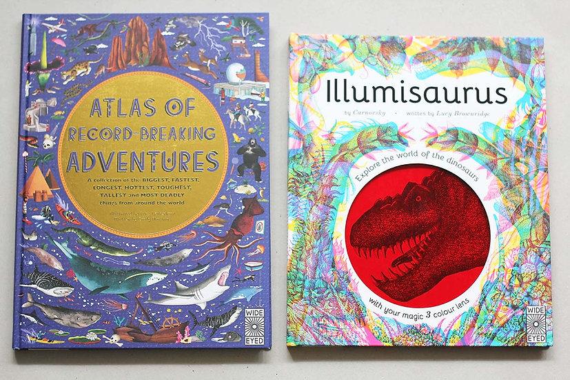Atlas of Record Breaking Adventures / Illumisaurus