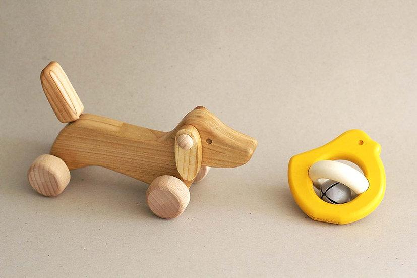 Dog / Yellow Rattle Bird