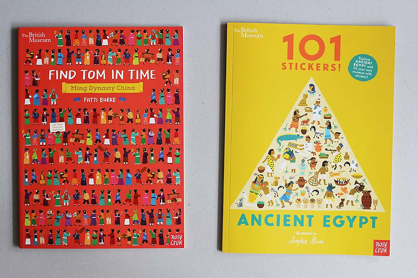 Find Tom in Time / Ancient Egypt