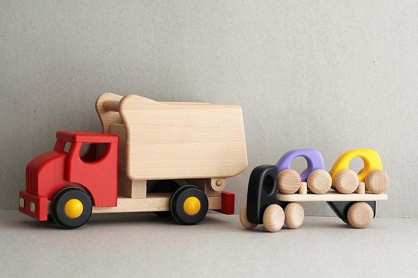 Tipper truck Shape Sorter  / Transporter