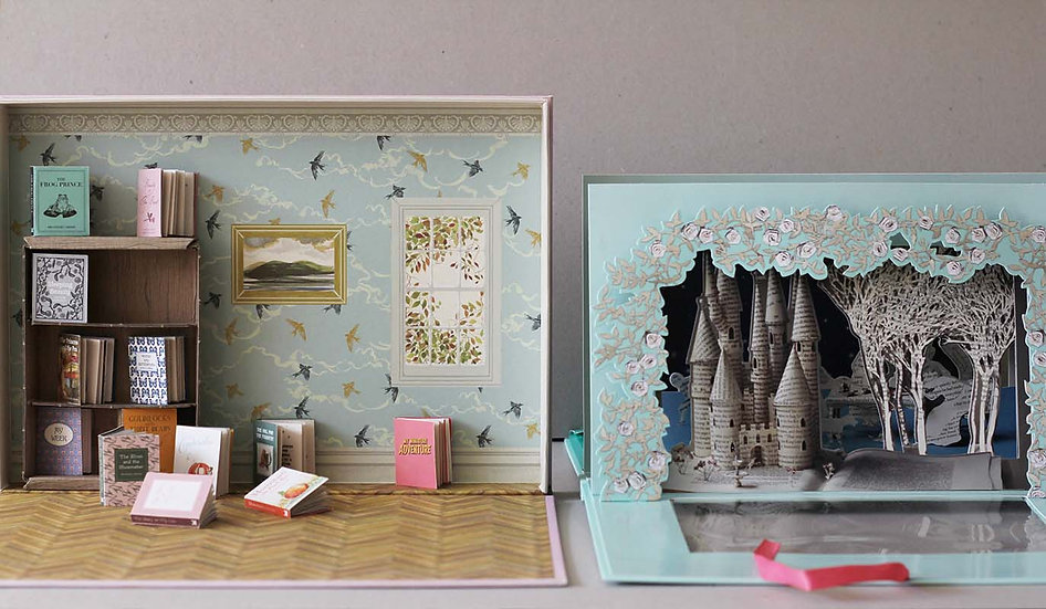 My Miniature Library / The Sleeping Beauty Theatre