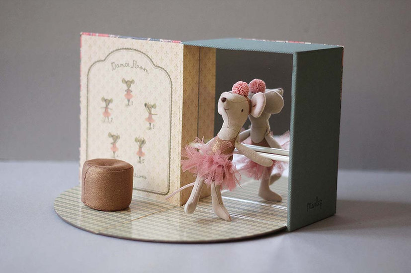 Little Ballet Mouse Dance Room