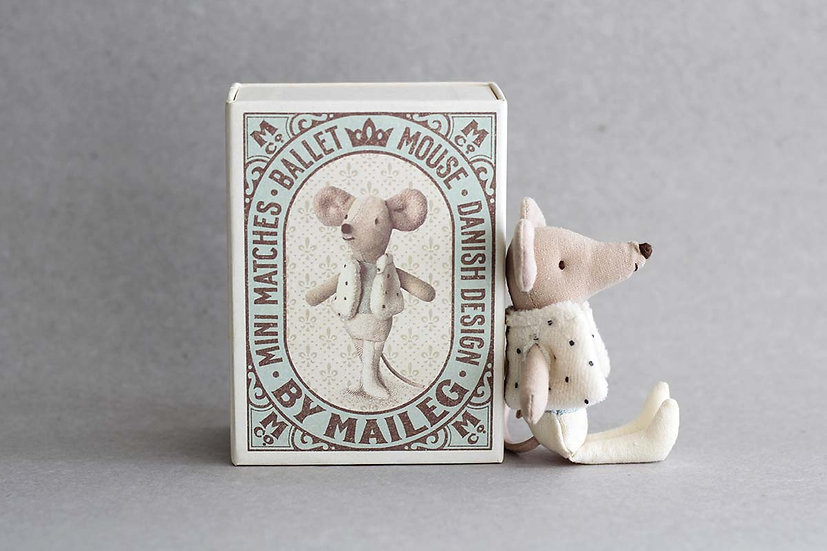 Ballet Mouse - Matchbox