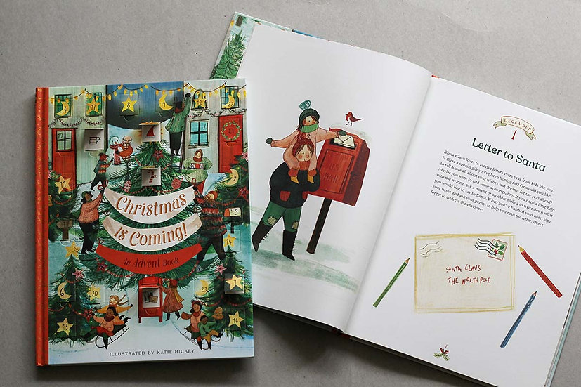 Christmas is Coming! Advent Book