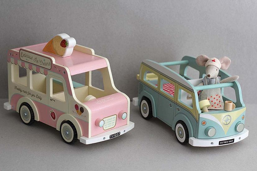 Ice Cream and Camper Van