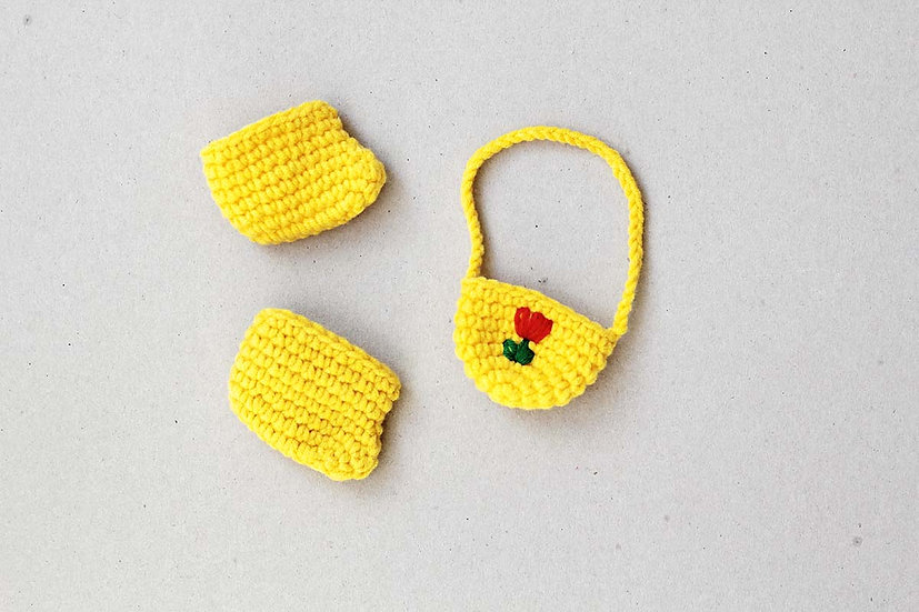 Miffy Yellow Bag & Shoes