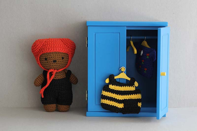 Miffy Blue Wardrobe and Clothing Collection