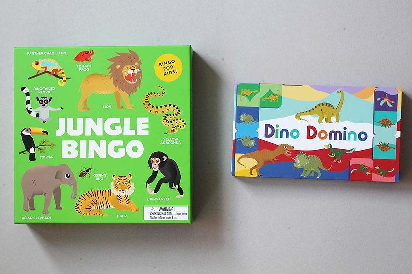 Jungle Bingo / Dino Domino