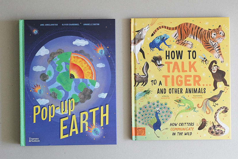 Pop up Earth/ How to Talk to Tiger ... and other Animals