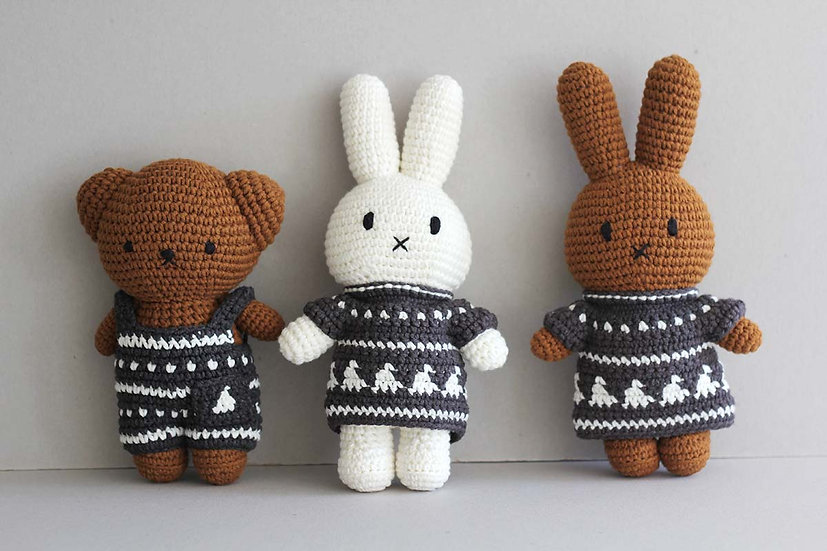 Nordic Boris, Miffy and  Melanie