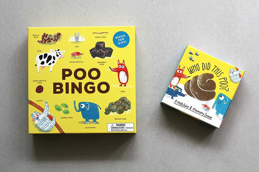 Poo Bingo / Who's did this Poo?