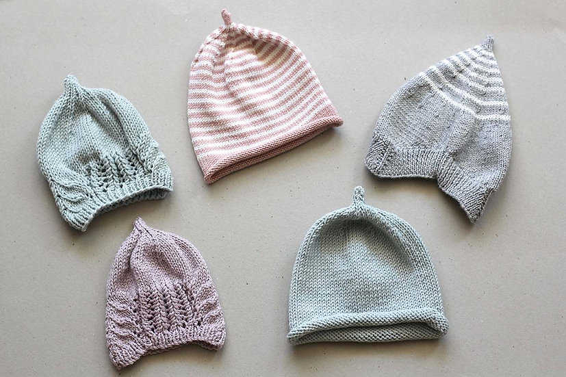 Linda's Knitted Hat Collection