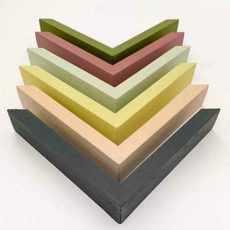 Frame colours by Maison Floralia