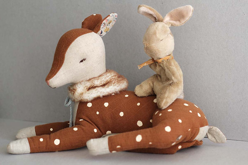 Big Cosy Bambi and little Bunny
