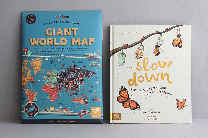 Giant World Map / Slow Down