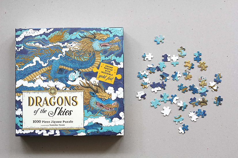 1000 Puzzles - Dragon of the Skies