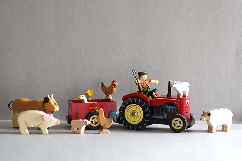 Bertie the Farmer and his Farm Animals