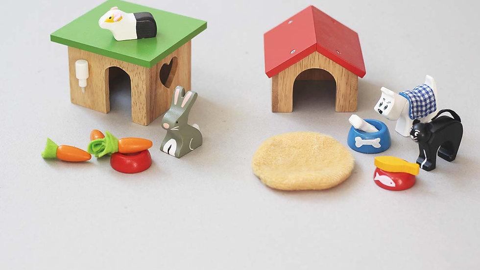 Bunny & Guinea hut / Pet Set
