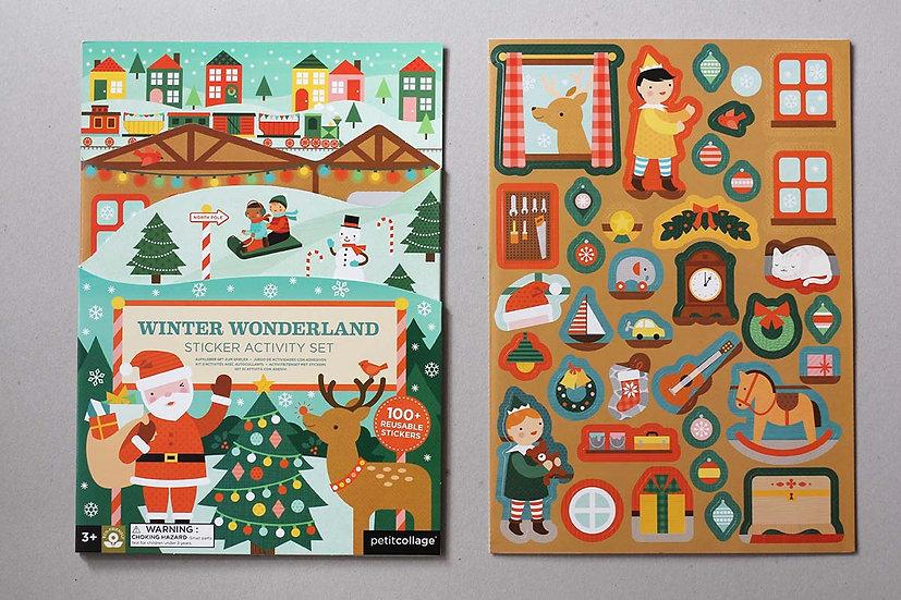 Winter Wonderland - Sticker Activity