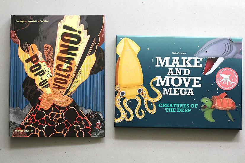 Pop-Up Volcano / Make & Move Mega - Creatures of the Deep