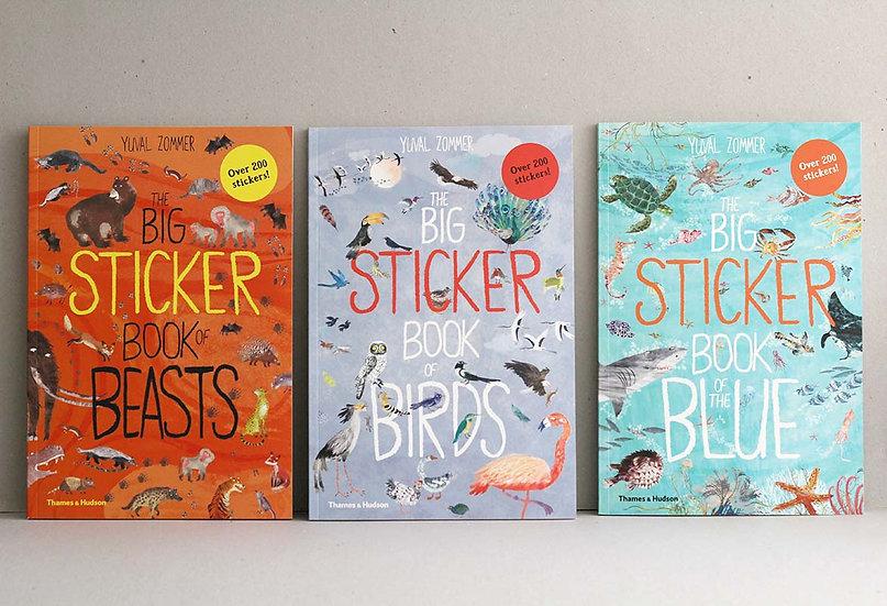 The Big Sticker Books Beasts/Birds/Blue