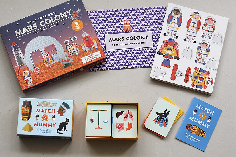 Build your own Mars Colony / Match a Mummy