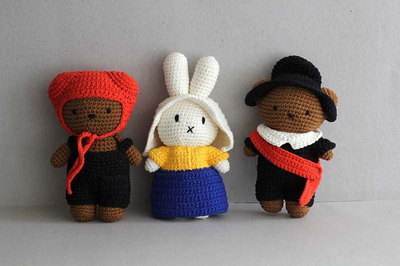 Boris/ Miffy Milkmaid/ Boris Nightwatch/ Miffy  x Rembrant