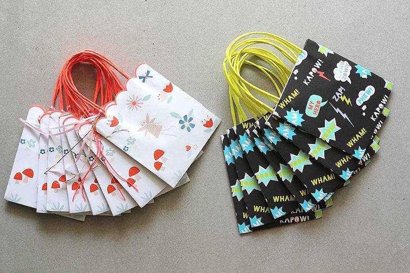 Party Bags Pack Fairies / Zap Superhero