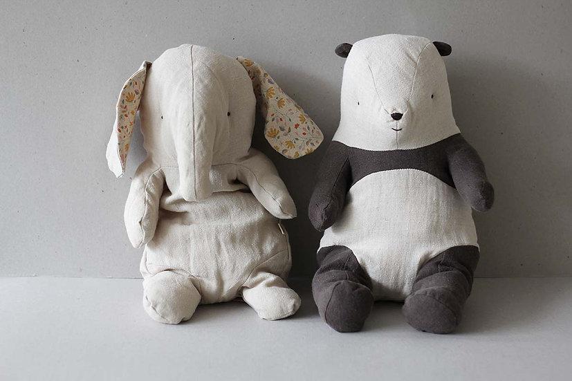 Medium Elephant & Panda