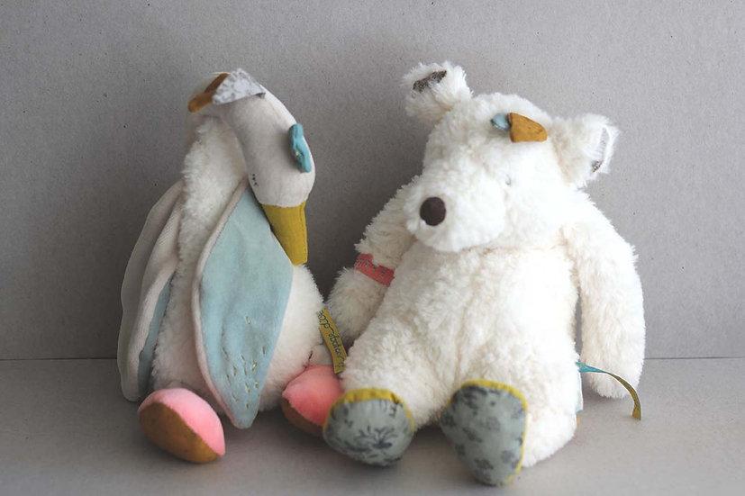 Musical soft lullaby Bear / Goose
