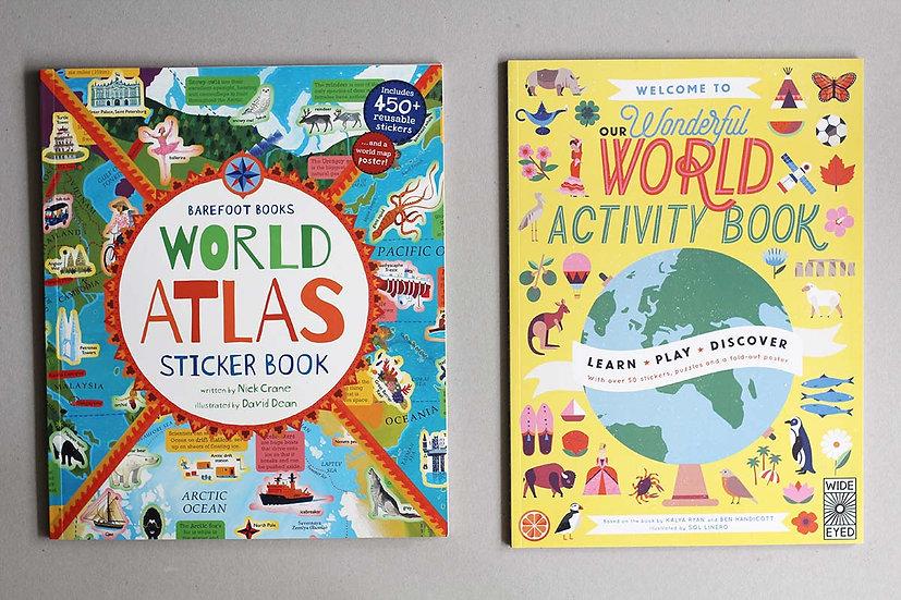 World Atlas / Wonderful World Activity book