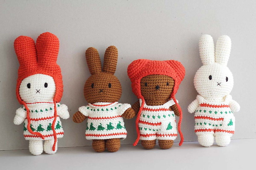 Christmas Miffy, Melaine and Boris