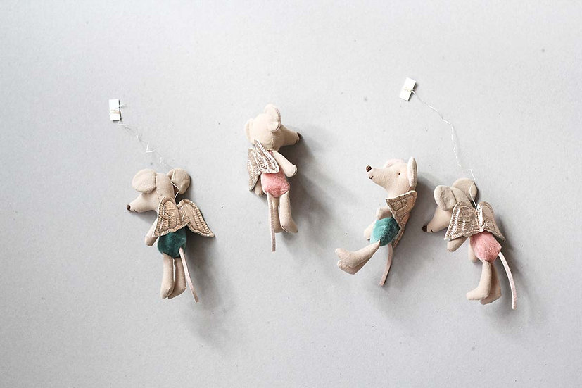 Hanging Mouse Fairies