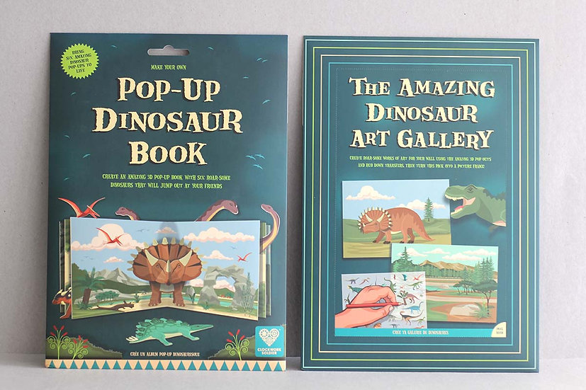 Make your own Dinosaur Pop Up Book / Art Gallery