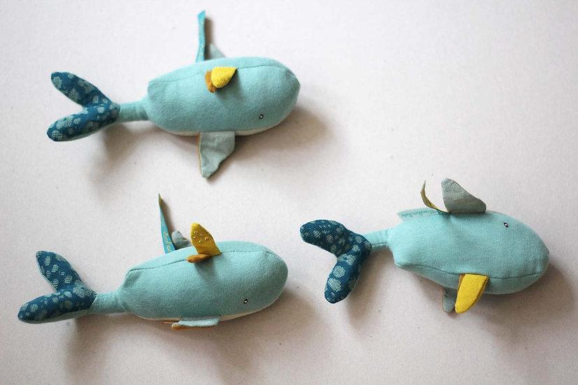 Mini Whale Rattles