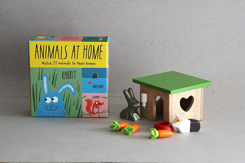 Animals at Home / Bunny and Guinea hut