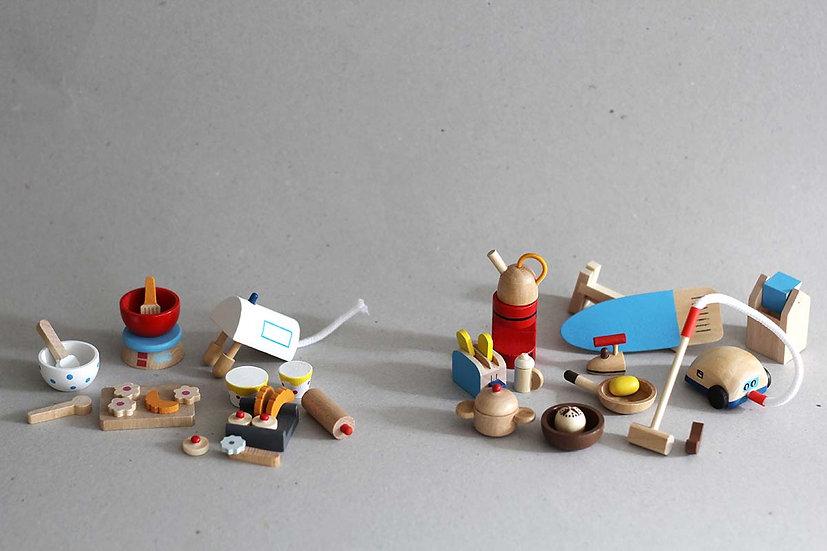 Dolls house accessorise - Baking / Kitchen set