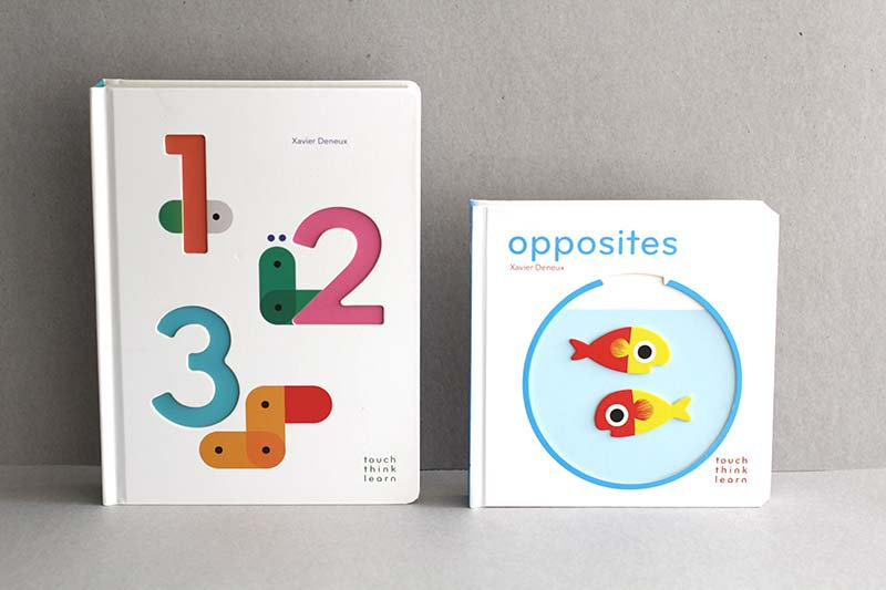 1 2 3 / Opposites - Touch Think Learn