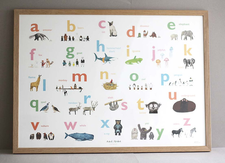 Alphabet Print and Signed