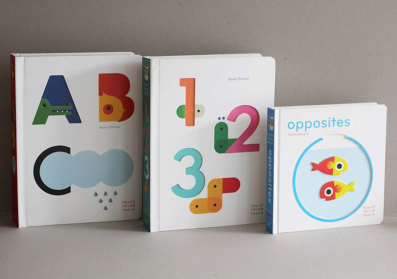 Touch Think Learn -  ABC/ 123/ Opposite