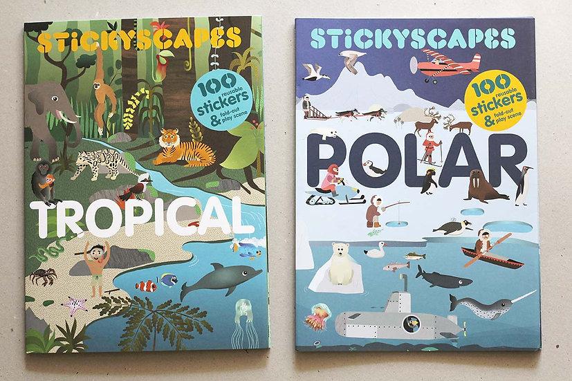 Stickyscape Tropical / Polar