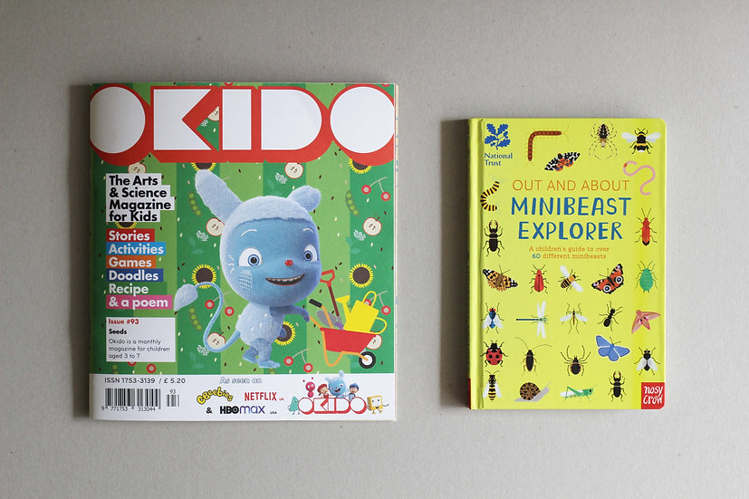 Seeds - Issue 93 by Okido /  Out & About Minibeast Explorer