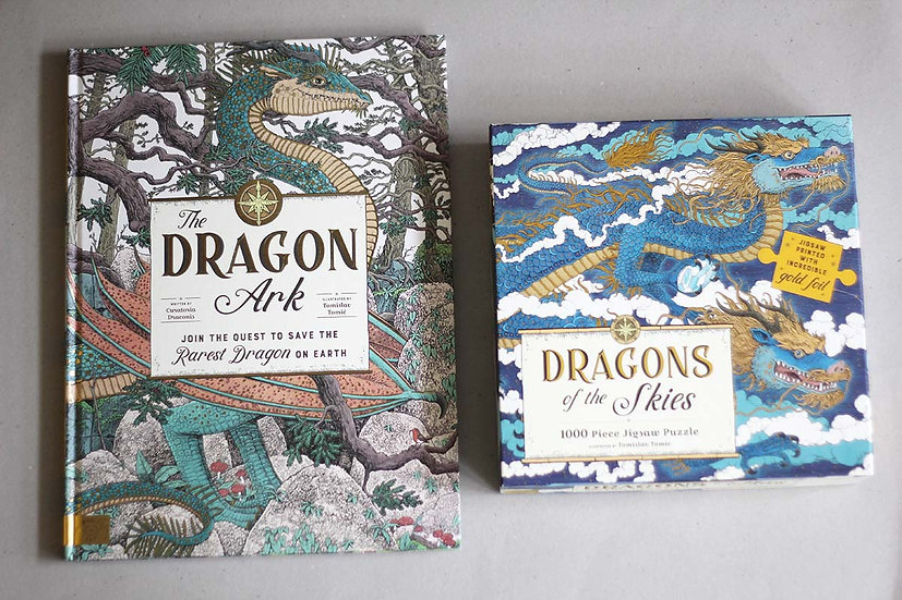 The Dragon Ark / Dragons of the Skies