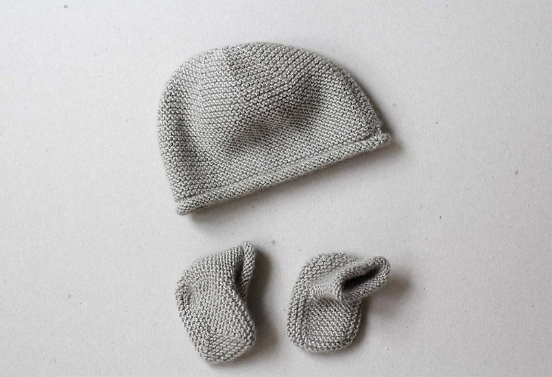 Cashmere Hat & Booties