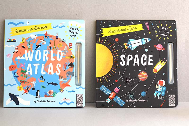 Scratch and Learn - World Atlas / Space